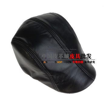 Golf ball cap baseball cap male genuine leather hat casual cap