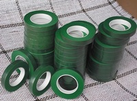 Free shipping- Floriculture tape / Flower and Haulm wrapping green tape 1cm*30 yards/roll 12rolls/lot