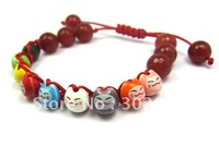 Free shipping(>10$),5pcs/lot,lucky cat bracelet