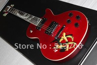 Red Very Beauty Slash Snake Fingerboard Electric Guitar Top Musical instruments Free Shipping