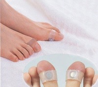 Ultra popular High Quantity Fitness 400pcs/lot Silicon Diet Slimming Massage Foot Toe Ring