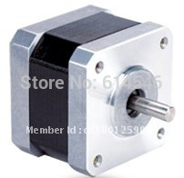 8 pcs / lot Stepper Motor 2PHASE 17HM3410 length 34mm 0.9 step angle 24 N.cm holding torque(min)(China (Mainland))