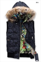 Hot Selling Russia Famous Brand Down Jacket Vest For Man or Woman
