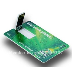 beer bottle credit card flash driver,credit card USB driver,usb flash memory 8% discount(China (Mainland))