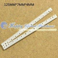 50pcs/lot Modulus of 0.5, the plastic gear rack, drive rod linkage rod, no.22 free shipping