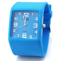 Big discount Quartz watch candy color jelly table resin wrist support sports watch silica gel watch gaga sales