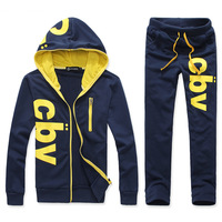 2012  fashion casual men sportswear set men hoddies set