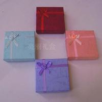 Carton 9 x 9 gift box jewelry box bracelet box lovers box bracelet box ring box
