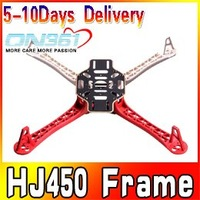Free shipping H J 450 4-Axis 450F Frame Airframe FlameWheel Strong Smooth K K MK MWC Quadcopter