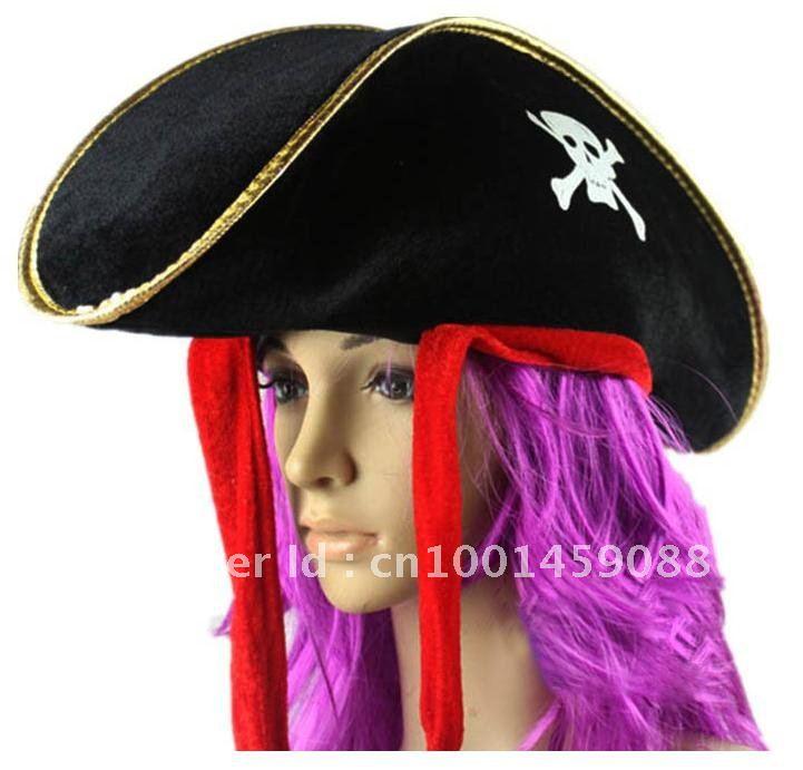 Free Shipping! Hot Elegant Fashion Design Adult Kids Caribbean Pirate ...