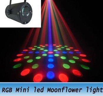 Wholesale RGB Mini led Moonflower lighting Laser stage Light for party DJ Club AB2216