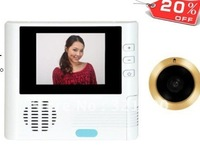 Sell like hot cakes Electronic Door Viewer Peephole Glass Lens 2.8inch LCD + free shipping
