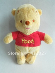 "WINNIE THE POOH 11"" PLUSH TEDDY BEAR(China (Mainland))"