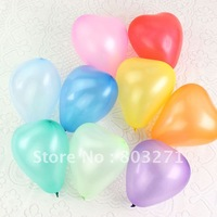 50PCS Small Size Love Shape Pearlizing Balloons,Party Decoration-Free Shipping