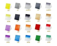 DHL + EMS 100pcs wholesale  Graduated/Full Square Filter + ND2/ND4/ND8