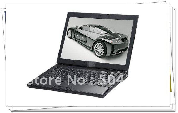 EMS /DHL Free sample ! 95% new  E6400 Intel Core2 2.53Ghz 2GB 160GB BT WiFi WEBCAM DVDRW 14.1& ...