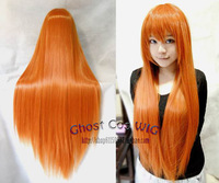 free shipping coplay wig 0 ! long straight hair 80cm high temperature wire cosplay wig