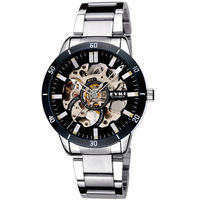 Ikey male watch fashion waterproof strip watchband men automatic mechanical watch fashion table