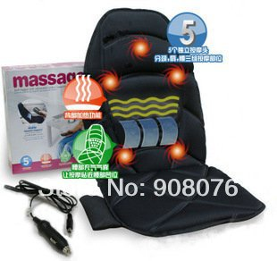 Car Chair Back Seat massage chain Heated Cushion hot Warmer 1Pcs/Lot Free shipping