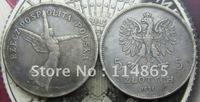 1931-POLAND-NIKE-5-ZLOTYCH COPY FREE SHIPPING