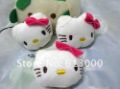 New Arrival Cute Hello Kitty Mobile Phone Pendant Chain Cell Phone Charm Strap Free Shipping