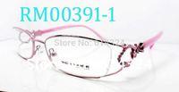 Retail/whosale lady optical frame,metal eyewear frame,designer spectacles optical frame