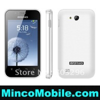 "3.5"" Capacitive Multi-Touch Screen S5830 Android 2.3 SC6820 1.0GHz CPU / 256M RAM / WIFI / Dual SIM Smart Phone"