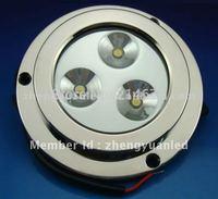 3X2W LED marine light/yacht light/ boat underwater light