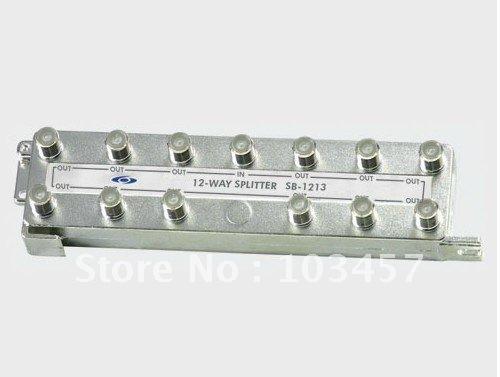 Free shipping, brand new 12 ways CATV splitter, SB-12FZ-12, tap off(China (Mainland))