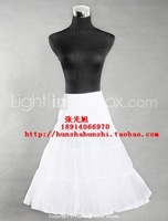 Wedding dress pannier 2012 ballet skirt w18 black-and-white meters red