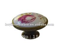 ceramic furniture handle wholesale and retail shipping discount 100pcs/lot T09-AB