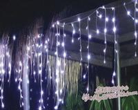 Led ice bar lamp garden christmas  lights waterfall light 6 meters multicolour light bulb heterochrosis