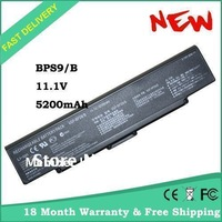 NEW OEM BPS9 BPS10 LAPTOP BATTERY 6cell VGP-BPS9 BPS9 VGP-BPS9A BPS9A VGP-BPS9/B BPS9/B BPS9/S VGP-BPS9L WITH BIOS CD