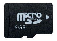 Free shipping 8GB real capacity Micro Memory Card 8GB TF card