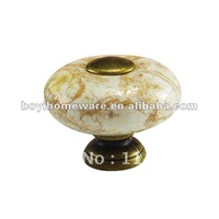 crackled ceramic bed knobs wholesale and retail shipping discount 100pcs/lot AS28-AB