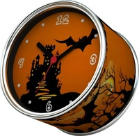 2012 new design clock as HALLOWEEN gifts for kids, Free shipping