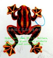 Free Shipping!2012 new creative flying frog 2 color car window sucker/sucker toys/glass paste/home decoration accessories