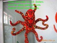 Free Shipping!2012 new creative simulation Leopard octopus car window sucker/sucker toys/glass paste/home decoration accessories