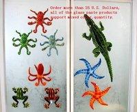Free Shipping!2012 new creative simulation starfish 2color car window sucker/sucker toys/glass paste/home decoration accessories