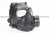 Wargame MO4 Toxic Gas Mask Style Cosplay Goggle With Fan System Black