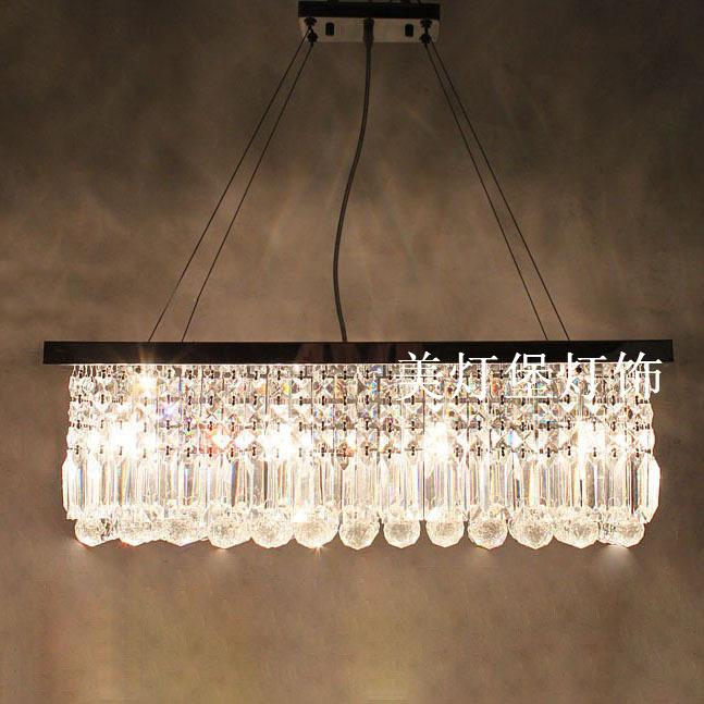 Light Brief Dining Room Pendant Light Rectangular Lighting Lamps China