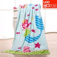 A M@ll Straw! Vosges 100% cotton reactive print terry bath towel beach towel 152 76cm -cbt1