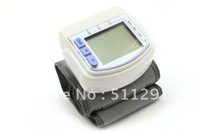 Free shipping Digital Fully Automatic Wrist Blood Pressure Monitor Sphygmomanometer, body massager, health care slimming machine