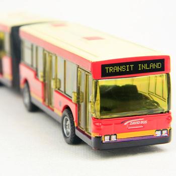 Toy car WARRIOR car toy car toy alloy WARRIOR double bus -zwz2