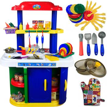 Large Size Playing House Kitchen Toy /Children Playing House Toys/Simulation Kitchenware Sets-ZWZ1