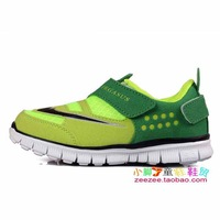 Fashion hot-selling children shoes barefoot light child sport shoes running shoes male child girls shoes children ploughboys