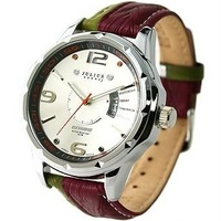 Julius unique personality casual calendar male watch double strap mens watch jah-033