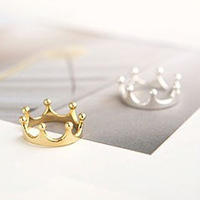 (see the description before you order)jewelry FC10040 romantic jewelry rings for women ancient Retro cute Crown ring 3g