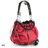 2012 women's handbag women's shoulder bag red  bridal bag cross-body