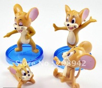 Best selling!! Tom And Jerry pvc figure hot sale figures toy Free shipping, 9 PCS/SET
